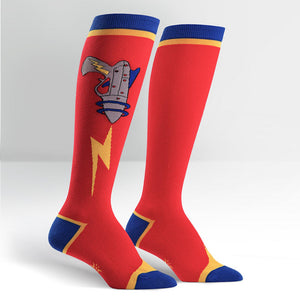 Raygun Knee Socks by Sock It to Me : Cats Like Us