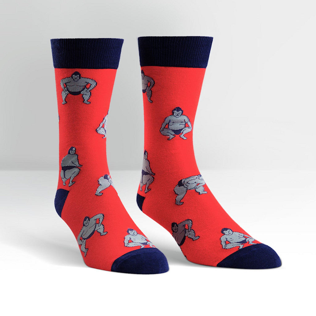 Sumo Crew Socks by Sock It to Me : Cats Like Us