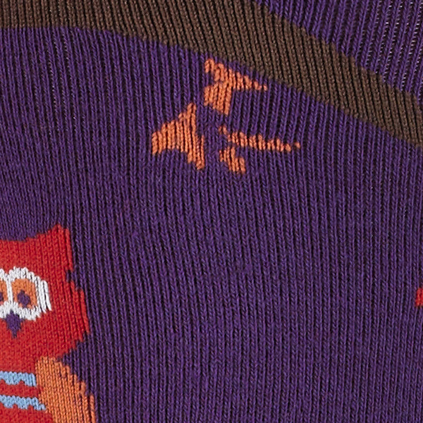 Sock It to Me Tree Owl Knee Socks for sale at Cats Like Us - 2