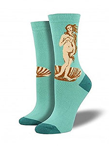 Birth of Venus Socks by SockSmith : Cats Like Us