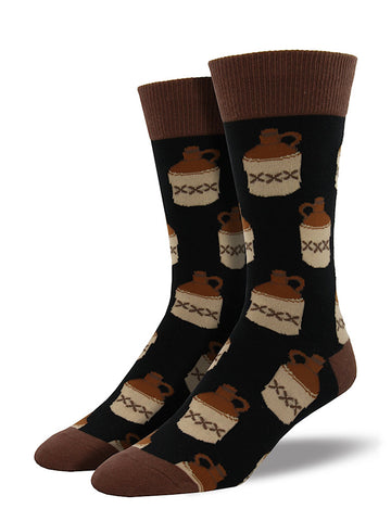 Booze Jugs Socks - Cats Like Us