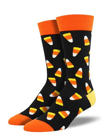 Candy Corn Socks by SockSmith : Cats Like Us