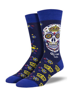 Corona Muertos Skull Socks - Cats Like Us