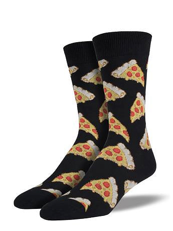 Fancy Pepperoni Pizza Socks by SockSmith : Cats Like Us