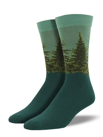 Forest Trees Socks by SockSmith : Cats Like Us