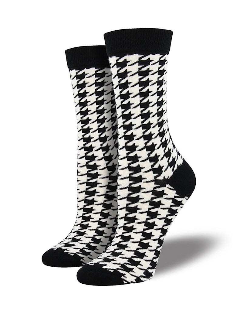 Houndstooth Socks by SockSmith : Cats Like Us