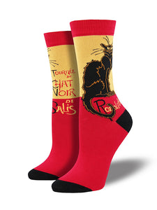 Le Chat Noir Cat Socks by SockSmith : Cats Like Us