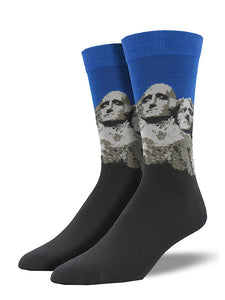 Mount Rushmore Socks by SockSmith : Cats Like Us