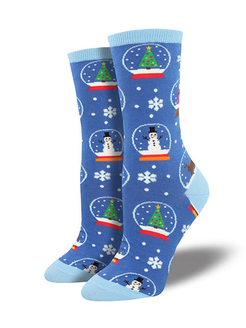 Snow Much Fun Snow Globe Socks