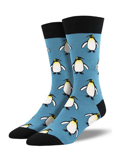 The Coolest Penguin Socks by SockSmith : Cats Like Us
