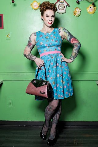 Atomic Sputnik Shift Dress by Sourpuss Clothing - Cats Like Us
