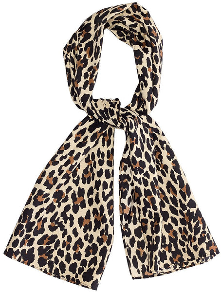 Bad Girl Leopard Scarf Sash