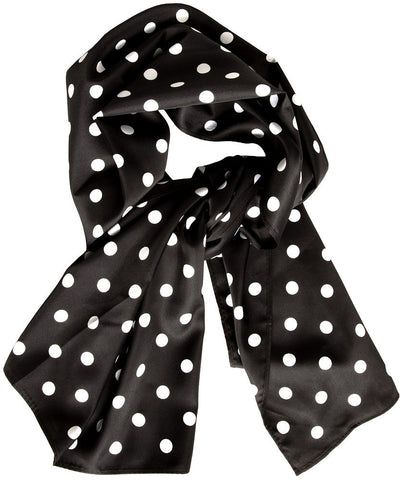 Bad Girl Polka Dot Scarf Sash - Cats Like Us