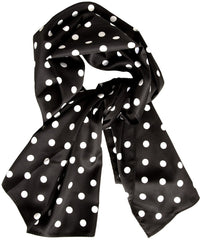 Bad Girl Polka Dot Scarf Sash