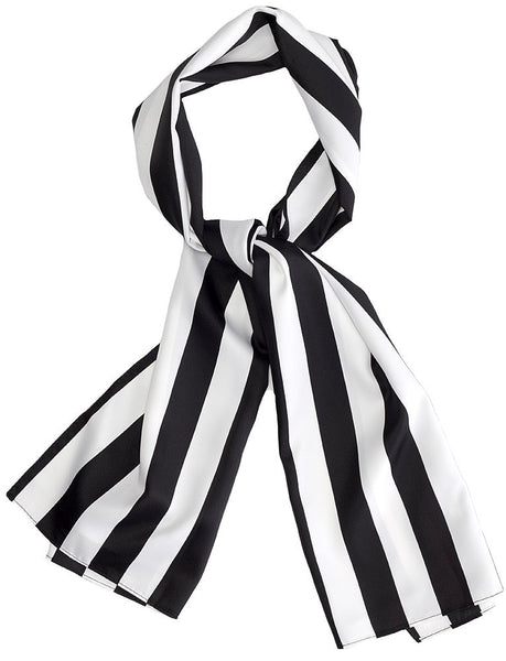 Bad Girl Striped Scarf Sash - Cats Like Us