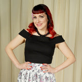 Sourpuss Clothing Black Sandy Top