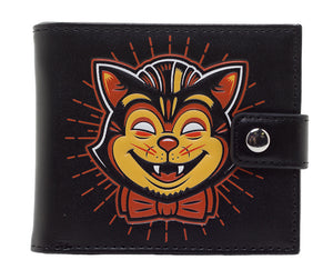 Creepy Cat Wallet by Sourpuss Clothing : Cats Like Us