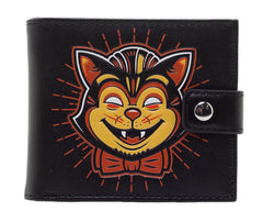 Creepy Cat Wallet
