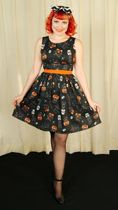 Halloween Black Cats Dress