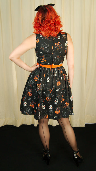 Halloween Black Cats Dress by Sourpuss Clothing : Cats Like Us