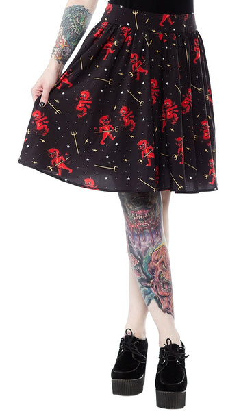 Hot Stuff Devil Skirt