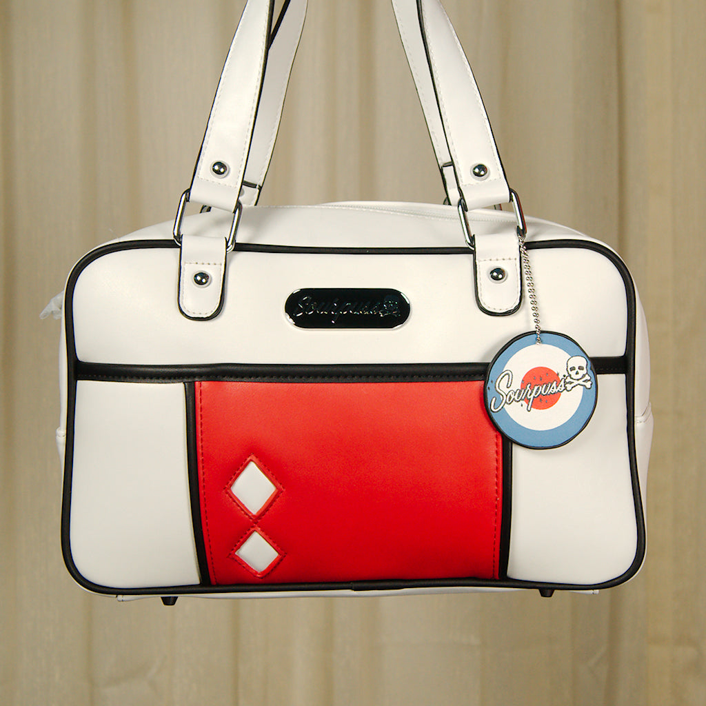 Mod Mondrian Block Handbag by Sourpuss Clothing : Cats Like Us