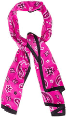 Pink Bandana Bad Girl Scarf