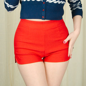 Red Sweetie Pie Shorts by Sourpuss Clothing : Cats Like Us