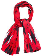 Retro Diamonds Bad Girl Scarf