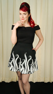 Tenticles Skater Skirt by Sourpuss Clothing : Cats Like Us