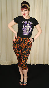 Tiger Peggy Capri Pants - Cats Like Us