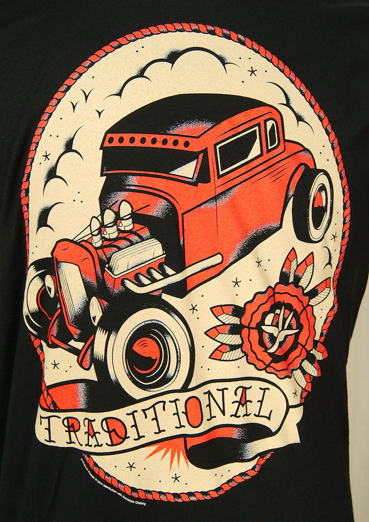 Traditional Hot Rod T Shirt Cats Like Us