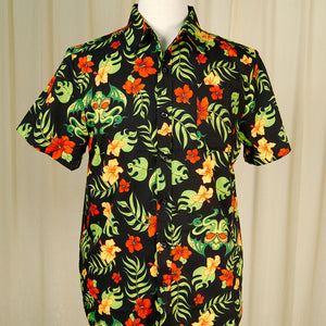 Tropicthulhu Tropical Shirt by Sourpuss Clothing : Cats Like Us