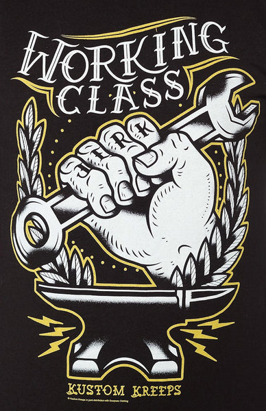 Working Class T Shirt - Cats Like Us