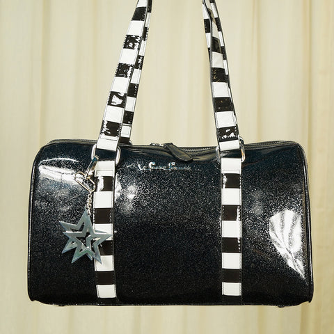 Black Fun House Handbag - Cats Like Us