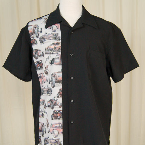 Drag Strip Bowling Shirt