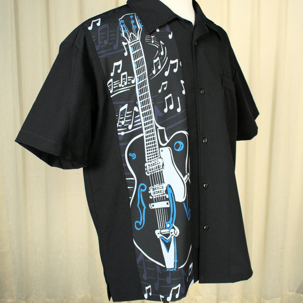 Guitar Jam Panel Shirt - Cats Like Us