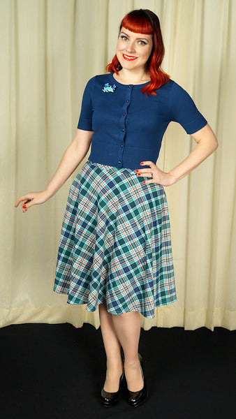 Leona Plaid Thrills Skirt by Steady Clothing : Cats Like Us