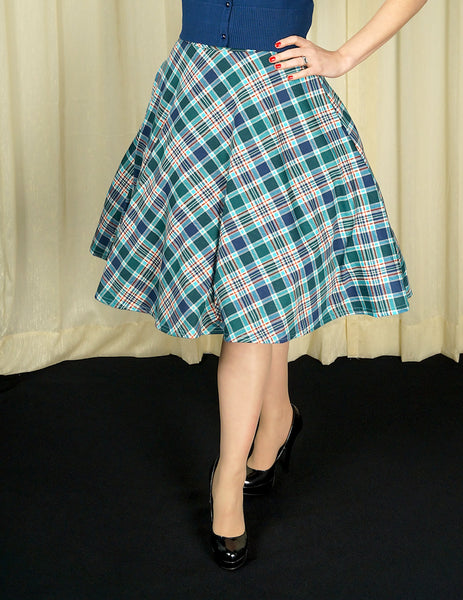 Leona Plaid Thrills Skirt - Cats Like Us