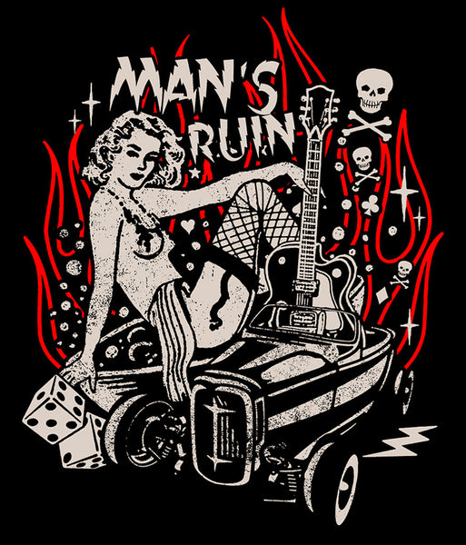 Man's Ruin T Shirt - Cats Like Us