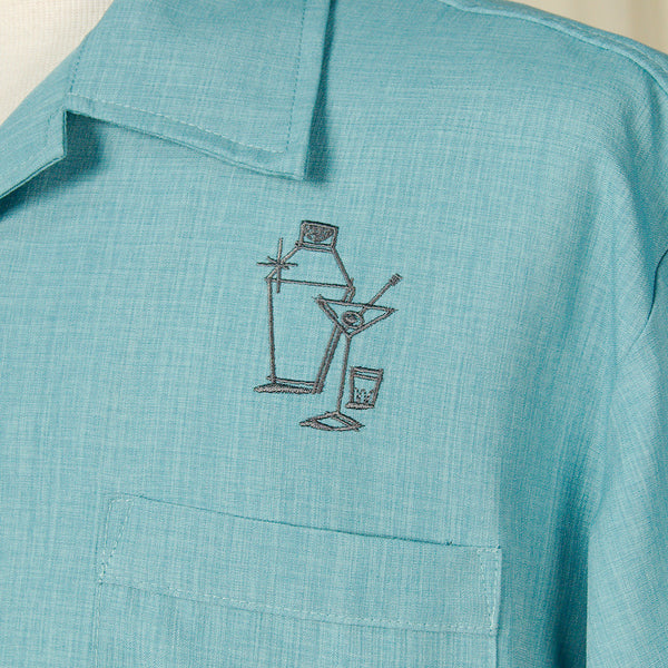 Steady Clothing Palm Springs Cocktail Shirt for sale at Cats Like Us - 4