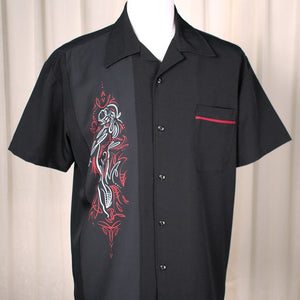 Pinstripe Pinup Panel Shirt