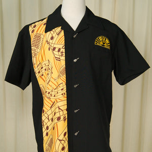 Sun Records Music Notes Shirt by Steady Clothing : Cats Like Us