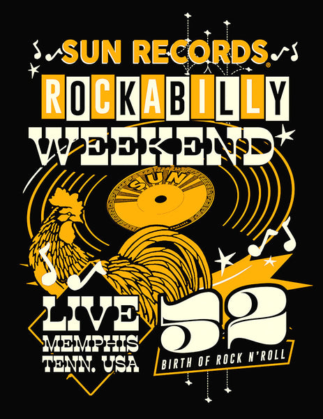 Steady Clothing Sun Records Weekender T for sale at Cats Like Us - 2