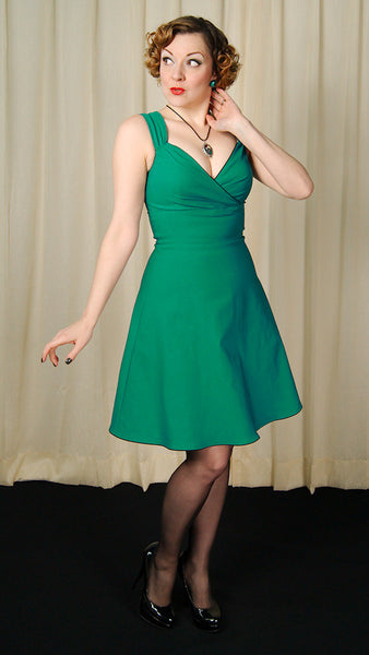 Steady Clothing Teal Diva Swing Dress for sale at Cats Like Us - 4