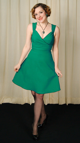 Steady Clothing Teal Diva Swing Dress for sale at Cats Like Us - 6