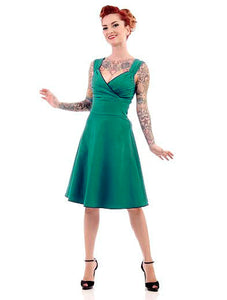 Teal Diva Swing Dress by Steady Clothing : Cats Like Us