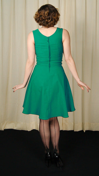 Steady Clothing Teal Diva Swing Dress for sale at Cats Like Us - 5