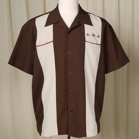 The Regal Crown Bowling Shirt