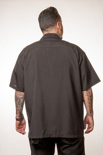 Steady Clothing V-8 Pinstripe Panel Shirt for sale at Cats Like Us - 3